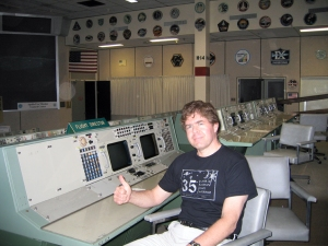 David Black at Johnson Space Center