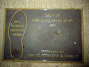 Bill Murray stepped here