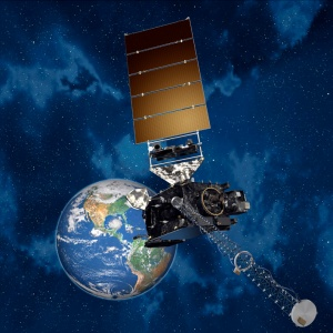 GOES-R weather satellite.