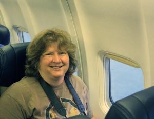 Carolyn Bushman, my partner in the SOFIA AAA program