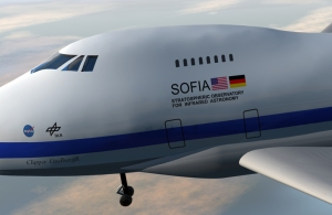 Texture mapping on the SOFIA model