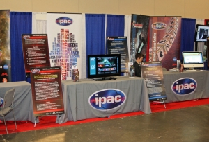 IPAC booth at AAS