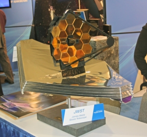 Model of the James Webb Space Telescope