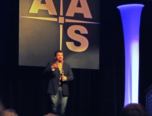 Neil deGrasse Tyson at the AAS meeting