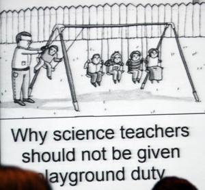 Science reaches pop culture