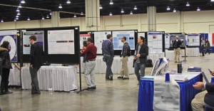 Posters at the American Astronomical Society conference