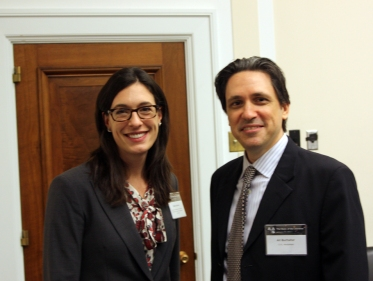 Blake Bullock and Ari Buchalter at the State of the Universe briefing