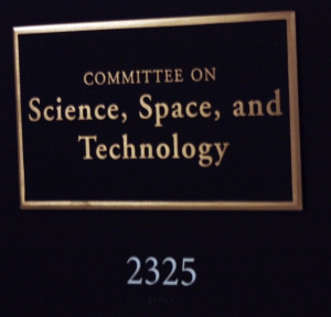 Room 2325, where the State of the Universe Briefing was held