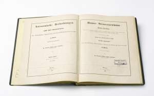 The actual Bonn Star Catalog (Bonner Durchmusterung).