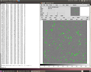 Coordinate file created by the DAOfind command. This one is for NGC752, which is older and sparser than NGC663 or 659.