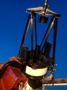 16 inch telescope at ROVOR in the west desert of Utah.