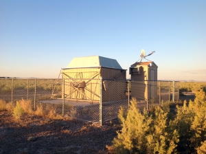 ROVOR - the Remote Observatory for Variable Object Research. It is located on the Theo Barry farm west of Delta, Utah.