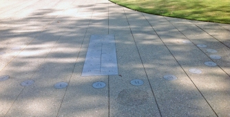 Sundial at Caltech