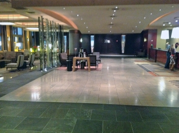 Lobby of the Grand Hyatt