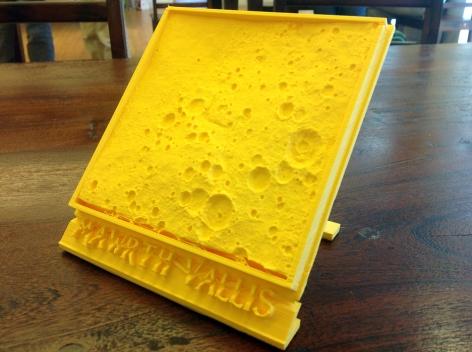 Mawrth Vallis 3D print