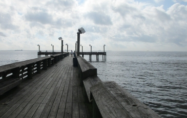 Pier at Sylvan Beach