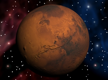 Mars still-Marineris