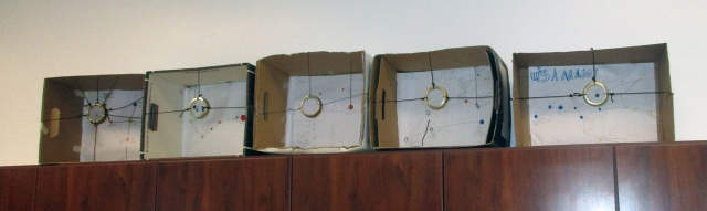 Row of constellation boxes-AAI