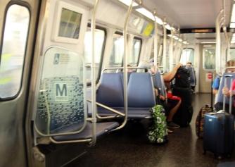 DC Metro interior