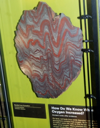 Banded iron deposits