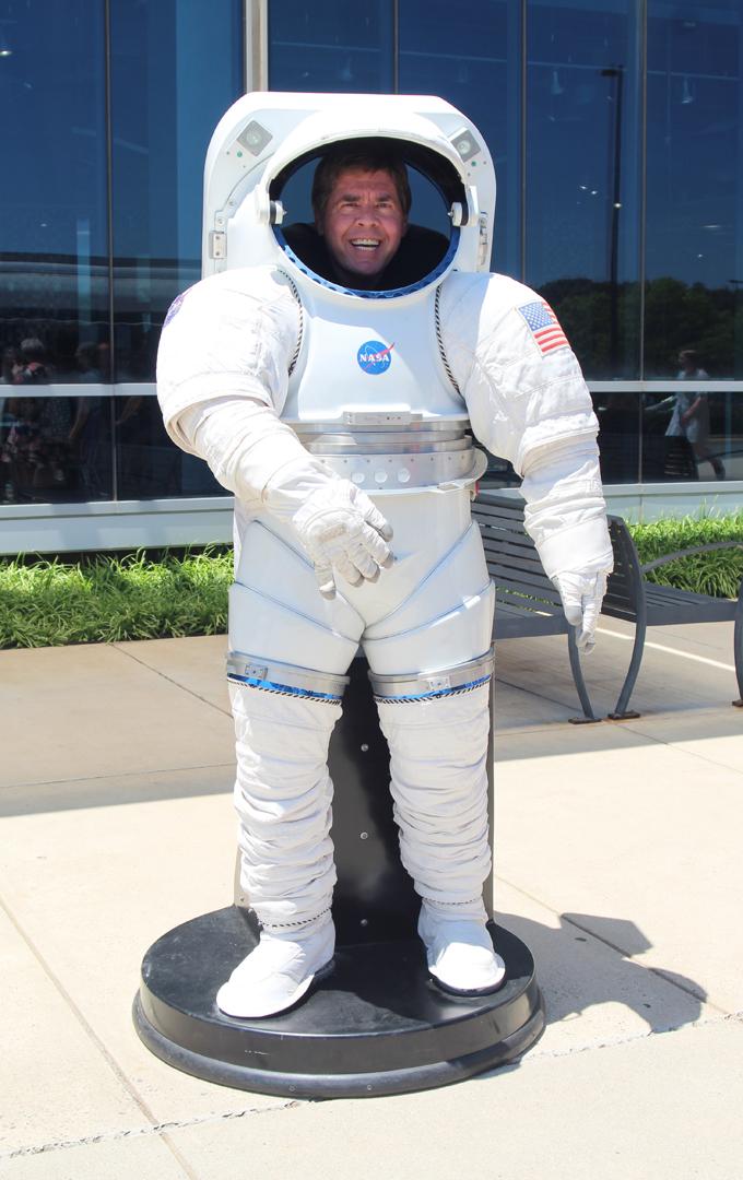 Me in spacesuit
