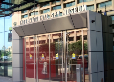 Spy museum entrance