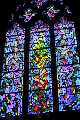 Stain glass-blues-Natl Cathedral