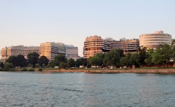 Watergate at sunset