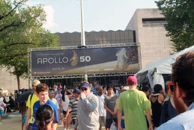 Air and Space 50th