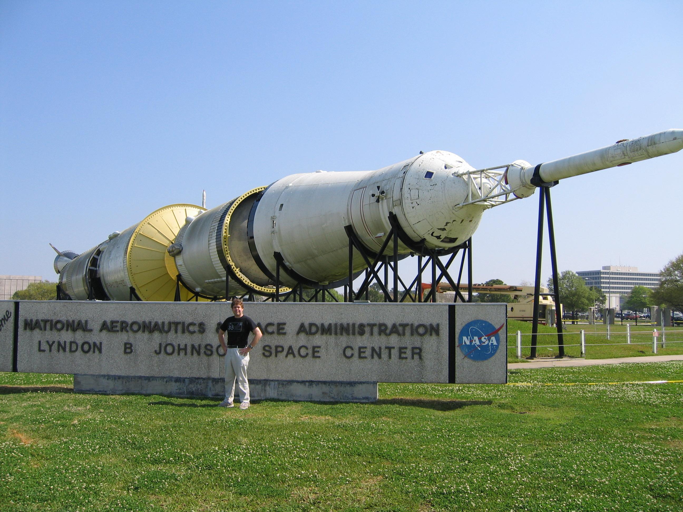David Black by Saturn V-JSC