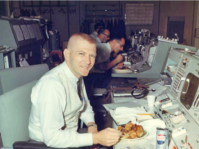Gene Kranz at director consol