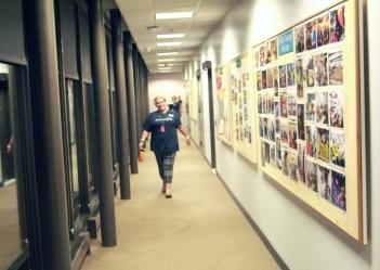 NASM hallway