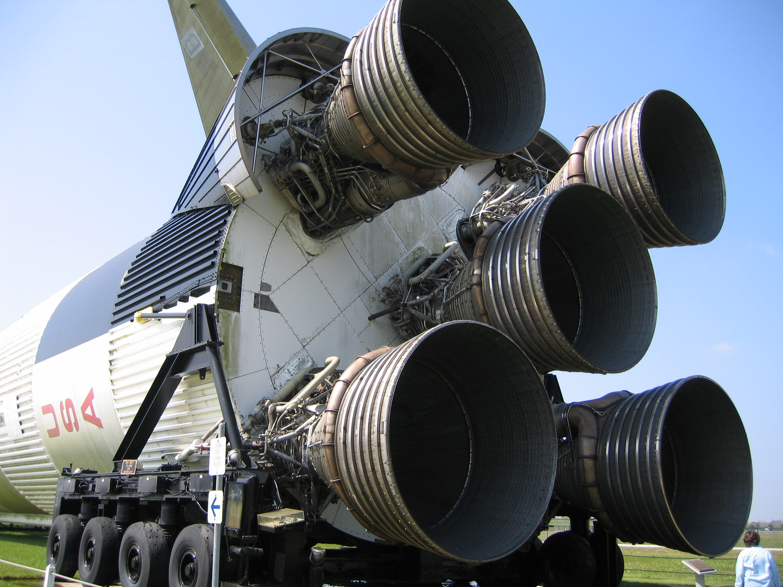 Saturn V business end