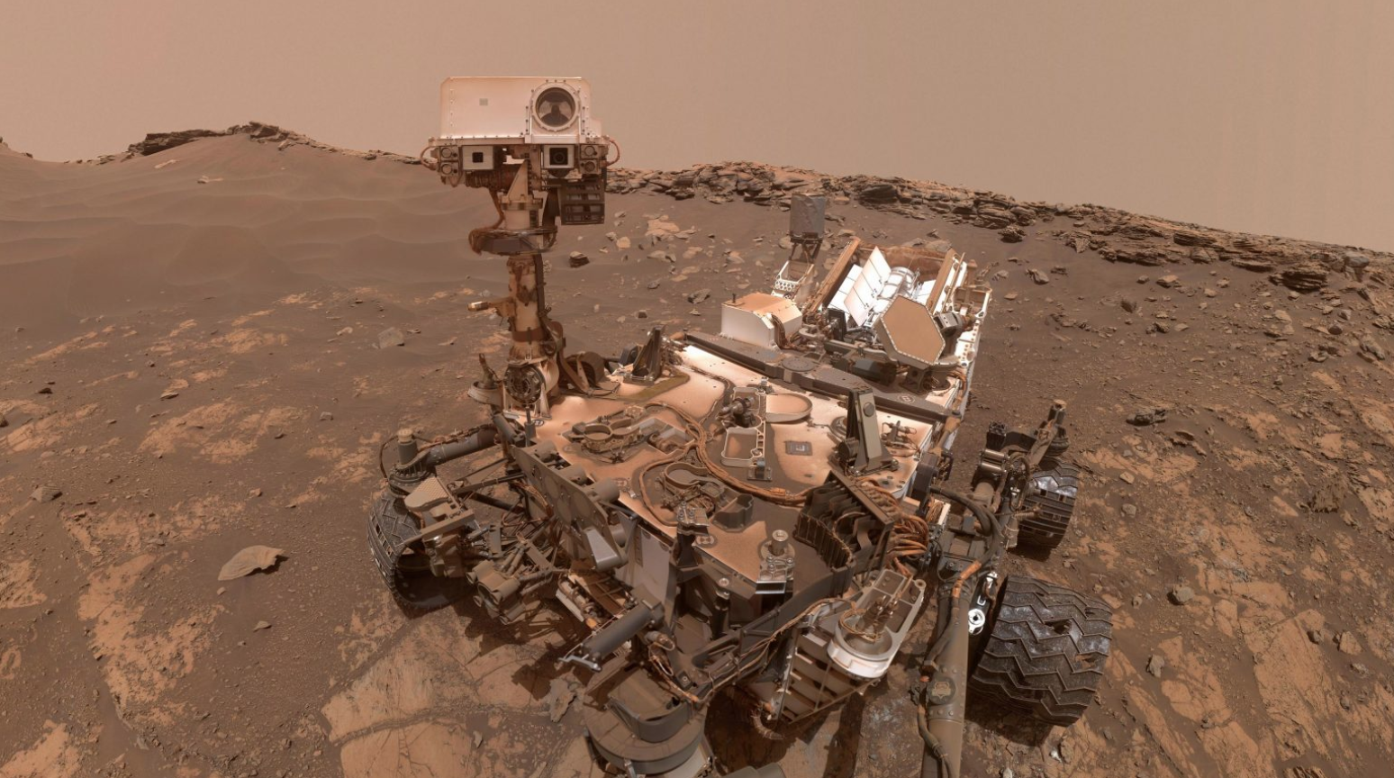 Curiosity selfie March 2020