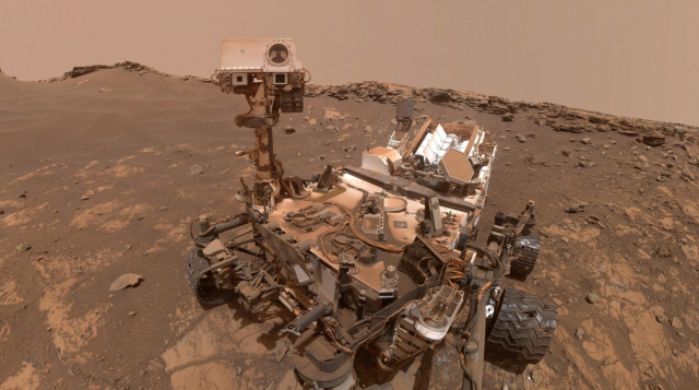 Curiosity selfie March 2020
